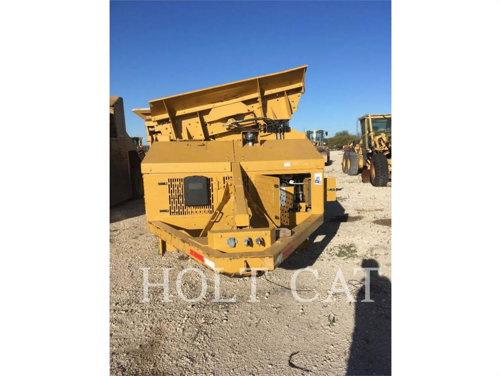 Screen Machine 77C, Screeners, Construction
