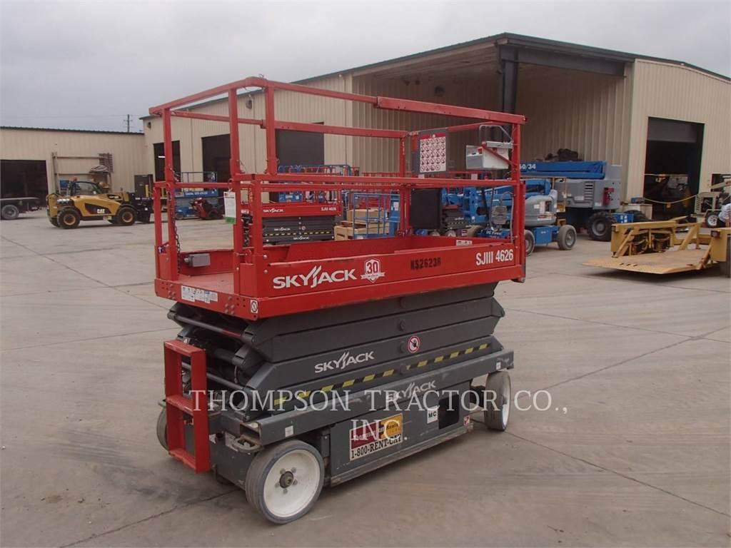 Skyjack 4626, lift - scissor, Construction