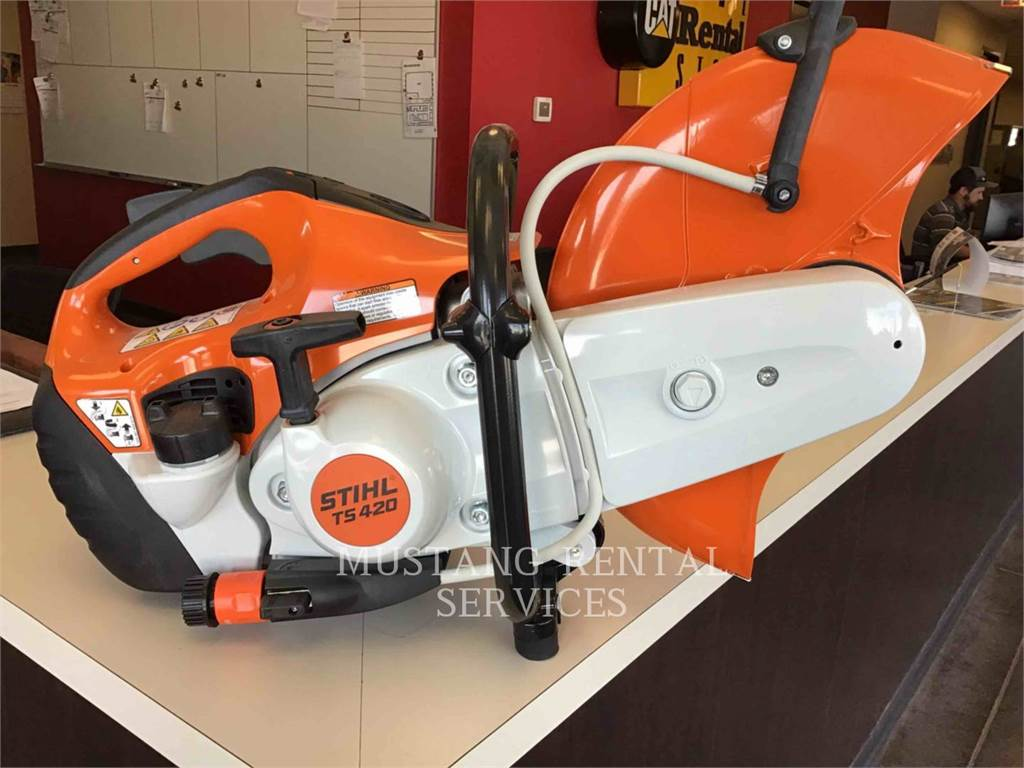 Stihl TS420, concrete equipment, Construction