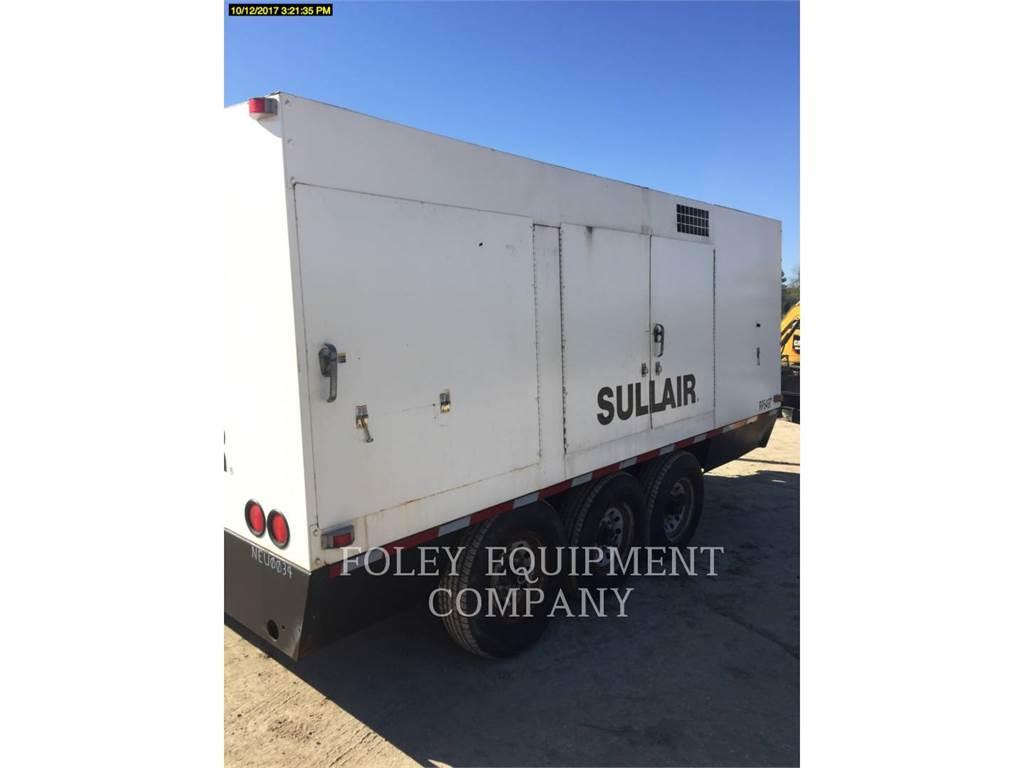 Sullair 1150XHA, compresor de aire, Construcción