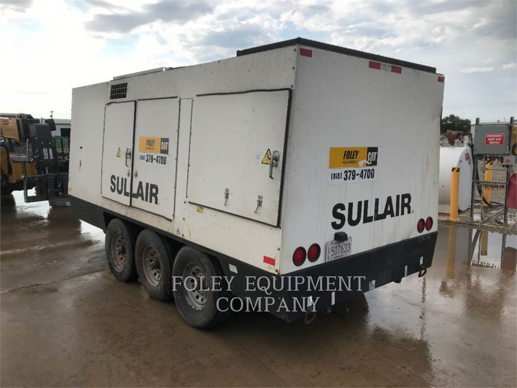 Sullair 1150XHA900, Temperature Control, Construction