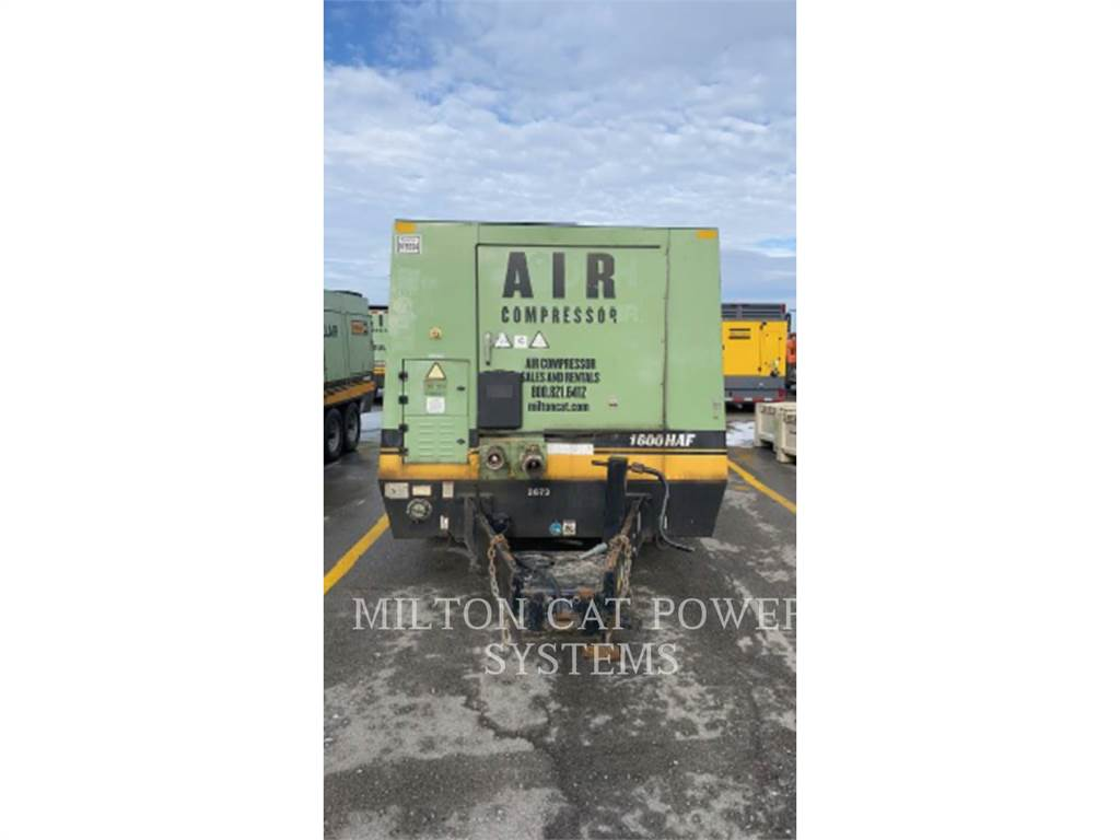 Sullair 1600HAF, Compressed Air, Construction