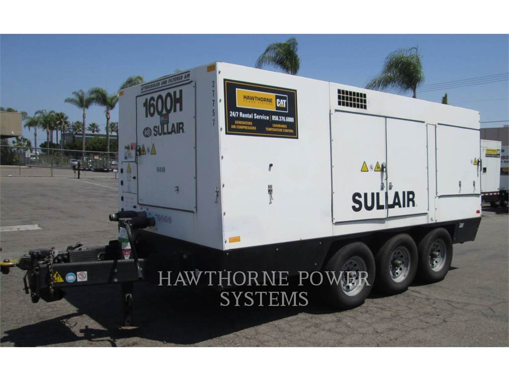 Sullair 1600HAF DTQ-CA3, Compressed Air, Construction