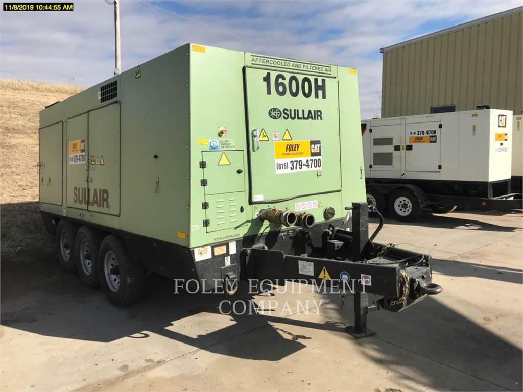 Sullair 1600HAFDTQ, compresor de aire, Construcción