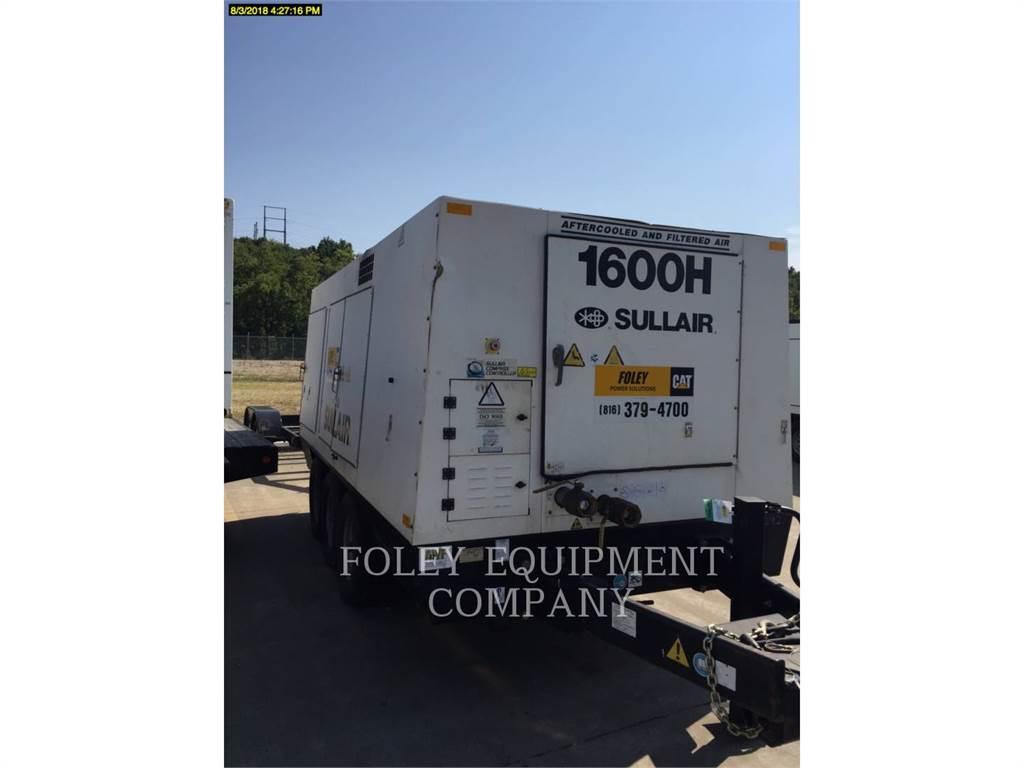 Sullair 1600HAFDTQ, compresseur a air, Équipement De Construction