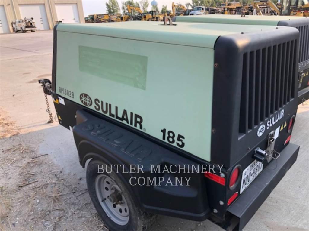 Sullair 185 CFM COMPRESSOR, luchtcompressor, Bouw