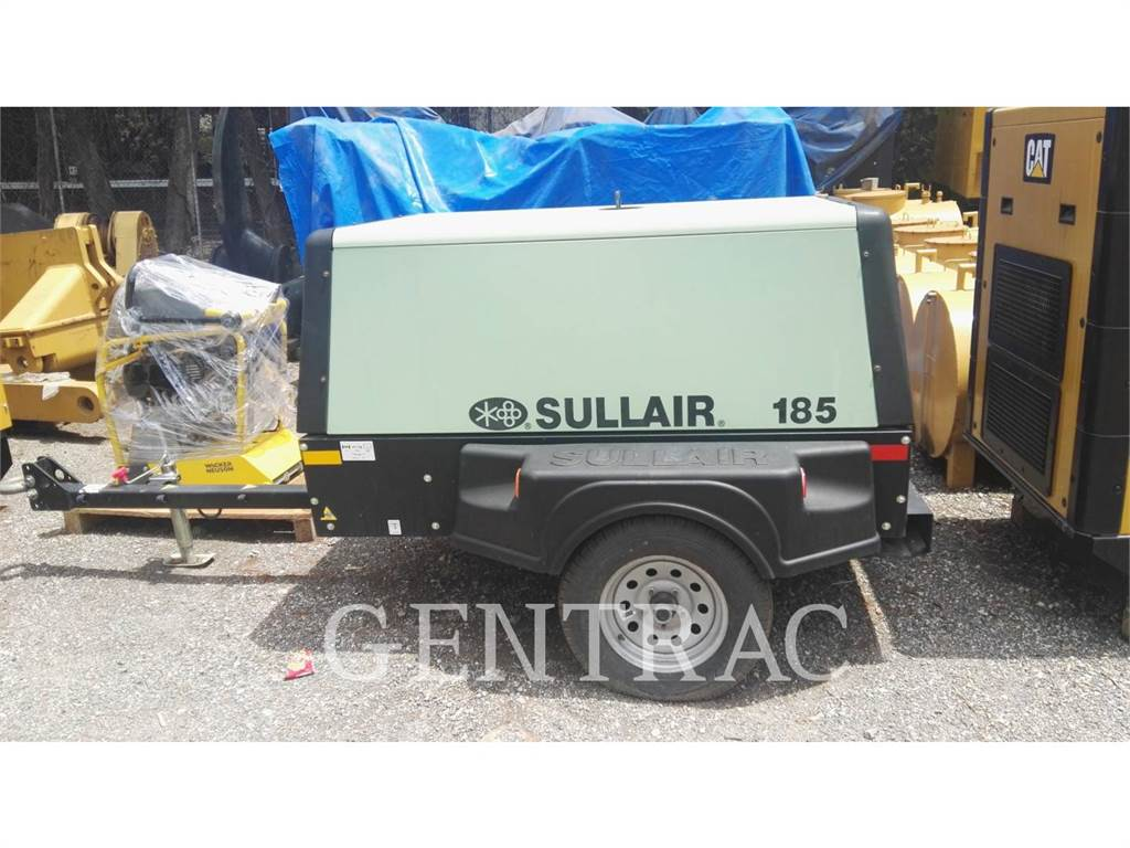 Sullair 185CA, Compressed Air, Construction