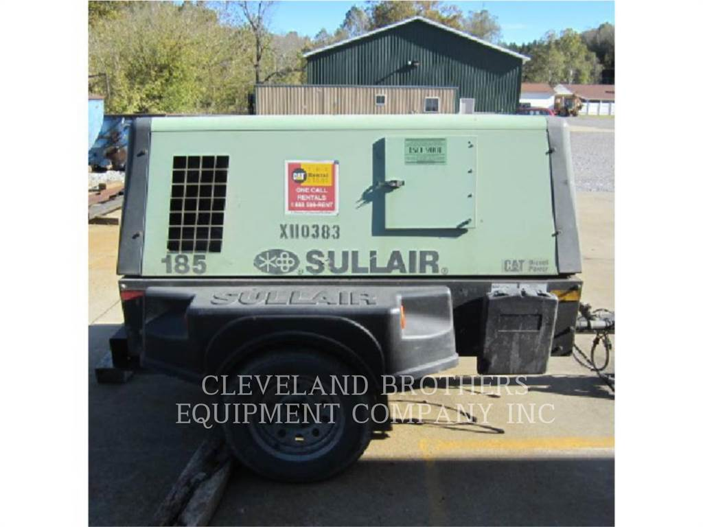 Sullair 185CFM, Water Tankers, Construction