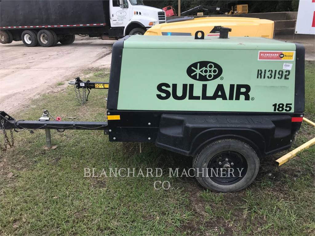 Sullair 185D, sprężarka powietrza, Sprzęt budowlany