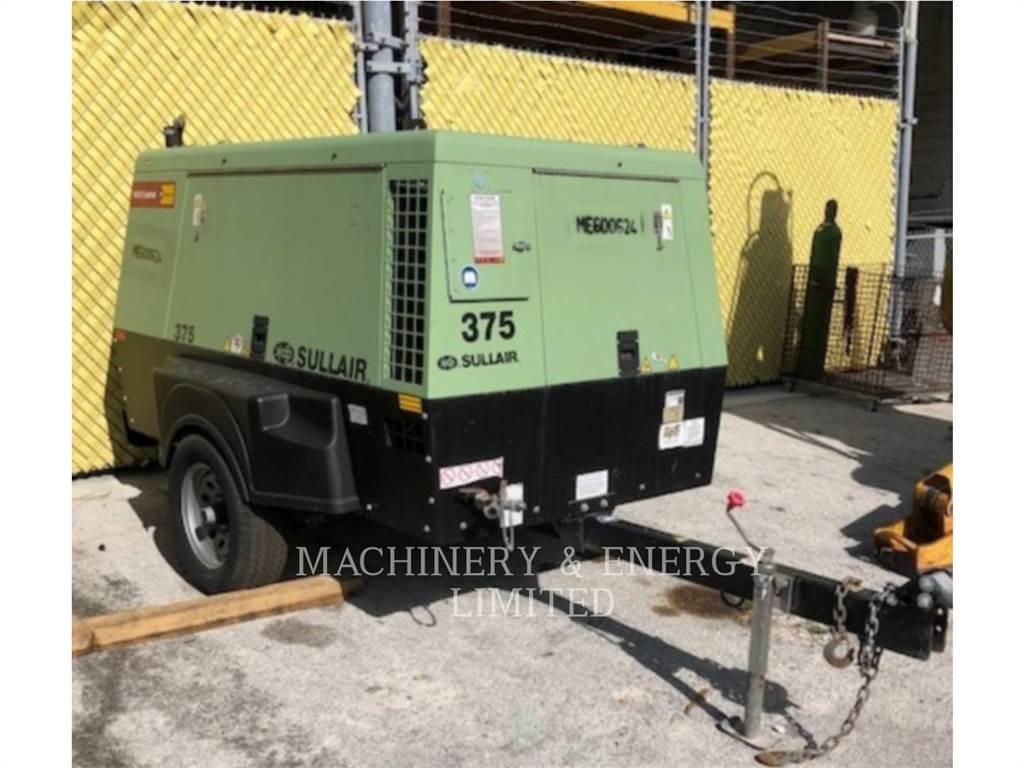 Sullair 185DPQ, Compressed Air, Construction