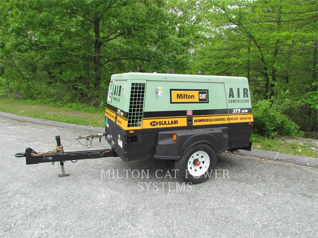 Sullair 375 HAF, luftkompressor, Bau-Und Bergbauausrüstung
