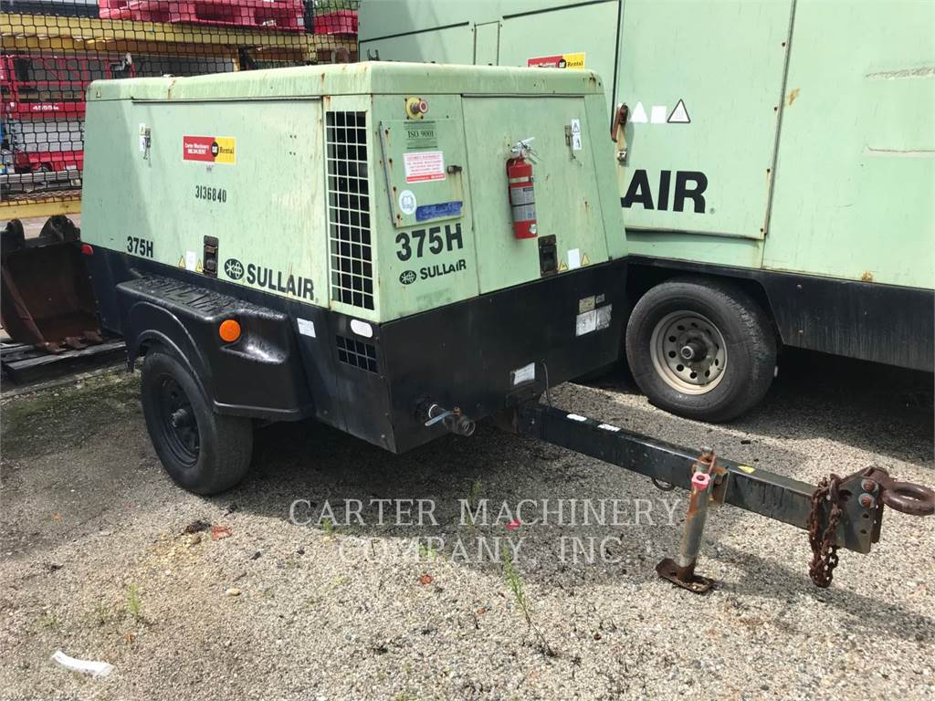 Sullair 375H, Compressed Air, Construction