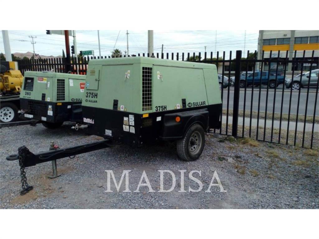 Sullair 375H DPQ, Compressed Air, Construction