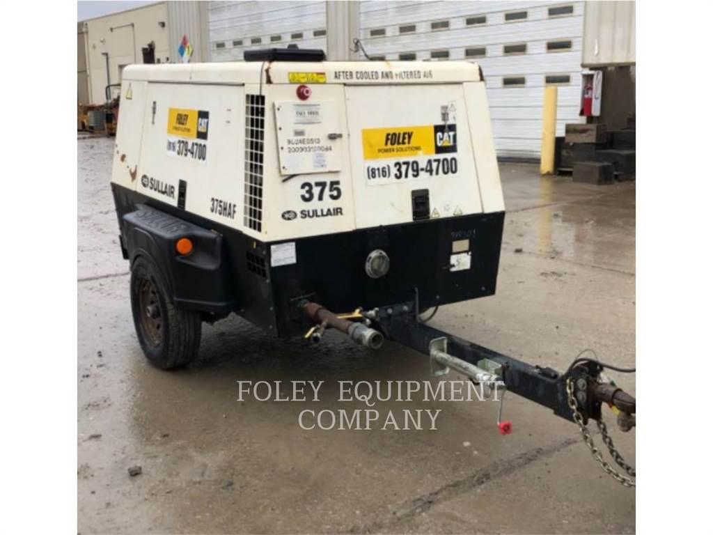 Sullair 375HAF, Secadores de aire comprimido, Construcción