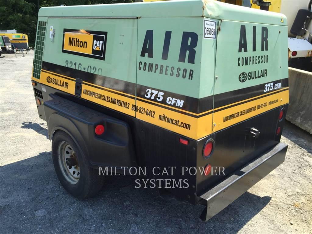 Sullair 375HH, luftkompressor, Bau-Und Bergbauausrüstung