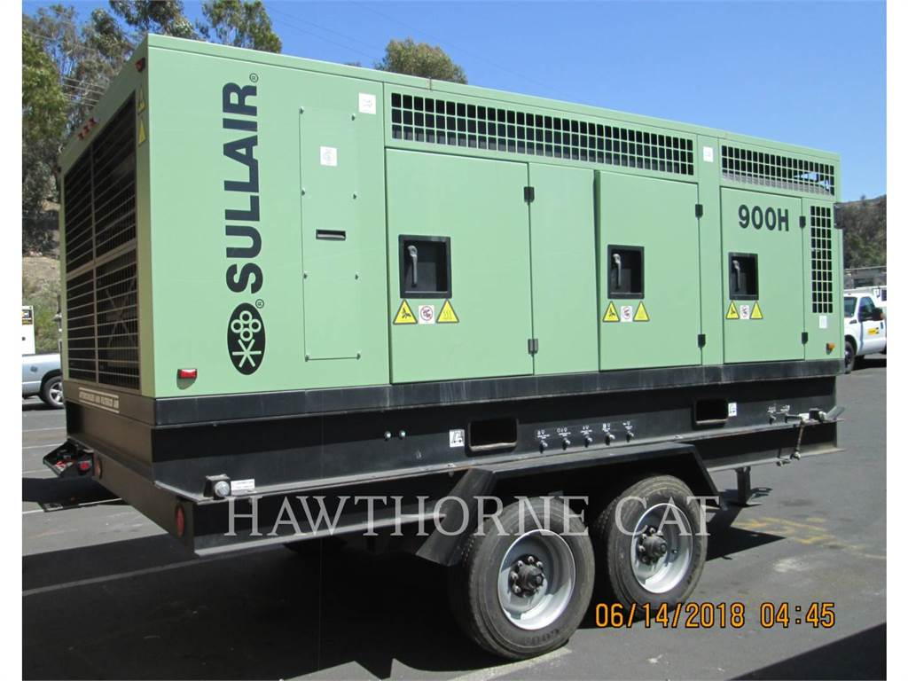 Sullair 900 CH/AF/DTQ/CA4, Compressed Air, Construction