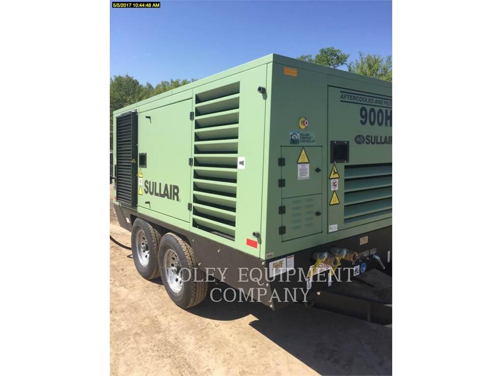 Sullair 900HAF, luftkompressor, Bau-Und Bergbauausrüstung