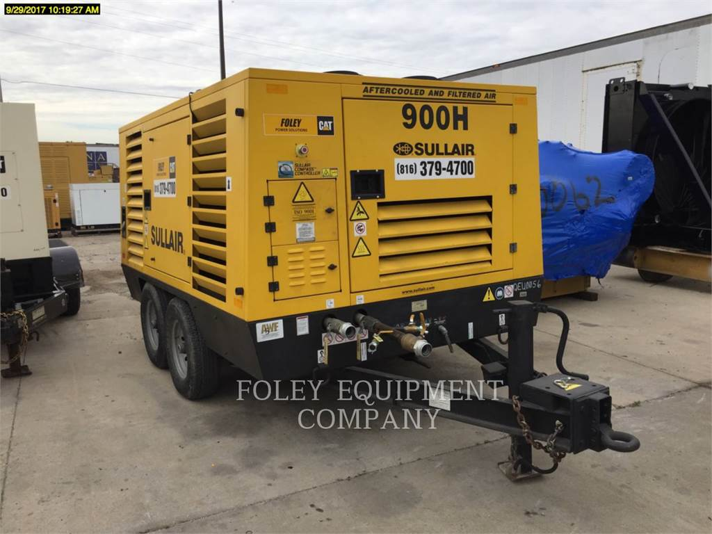 Sullair 900HAF, Compressed Air, Construction
