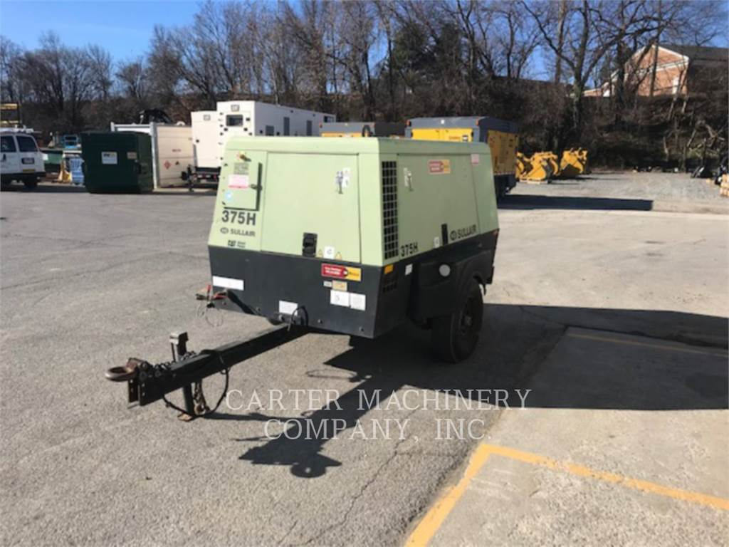 Sullair COMP/375H, Compressed Air, Construction
