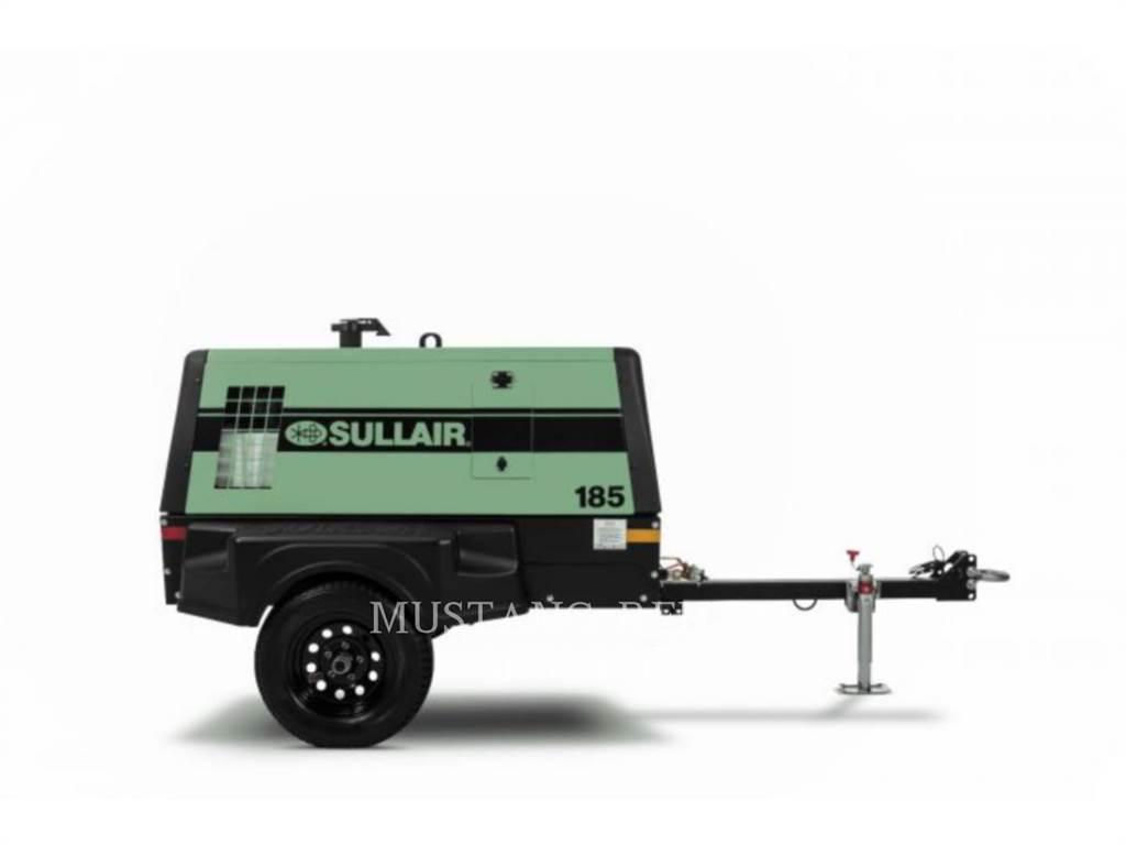 Sullair DPQ185, luchtcompressor, Bouw