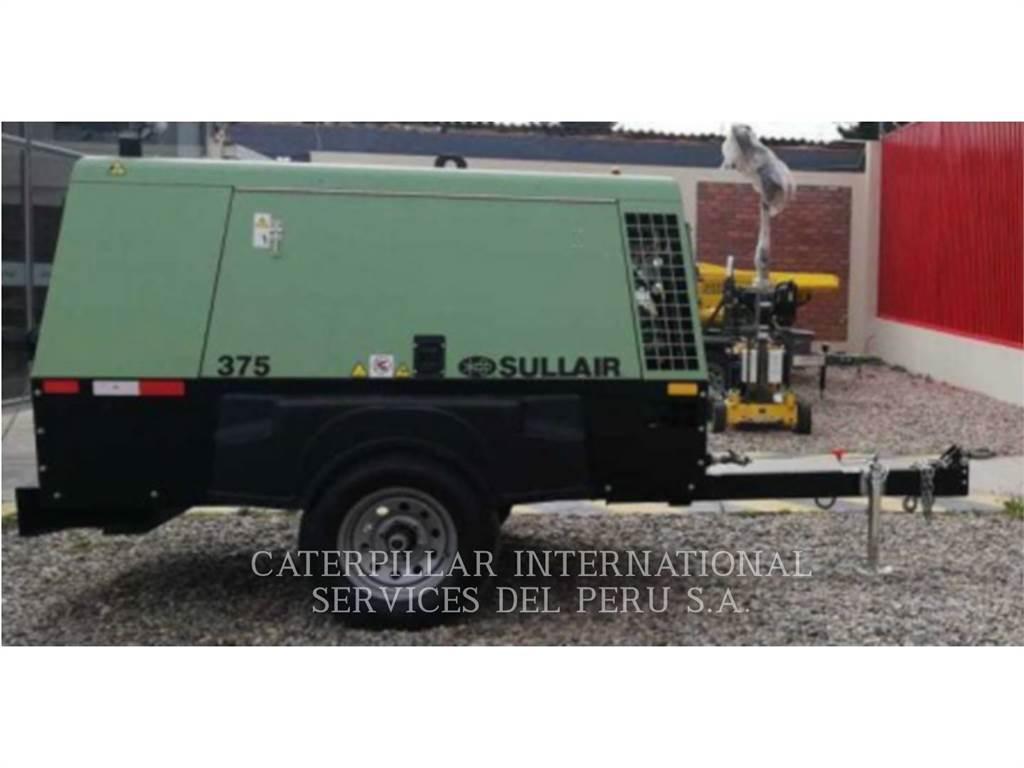 Sullair DPQ375, luchtcompressor, Bouw