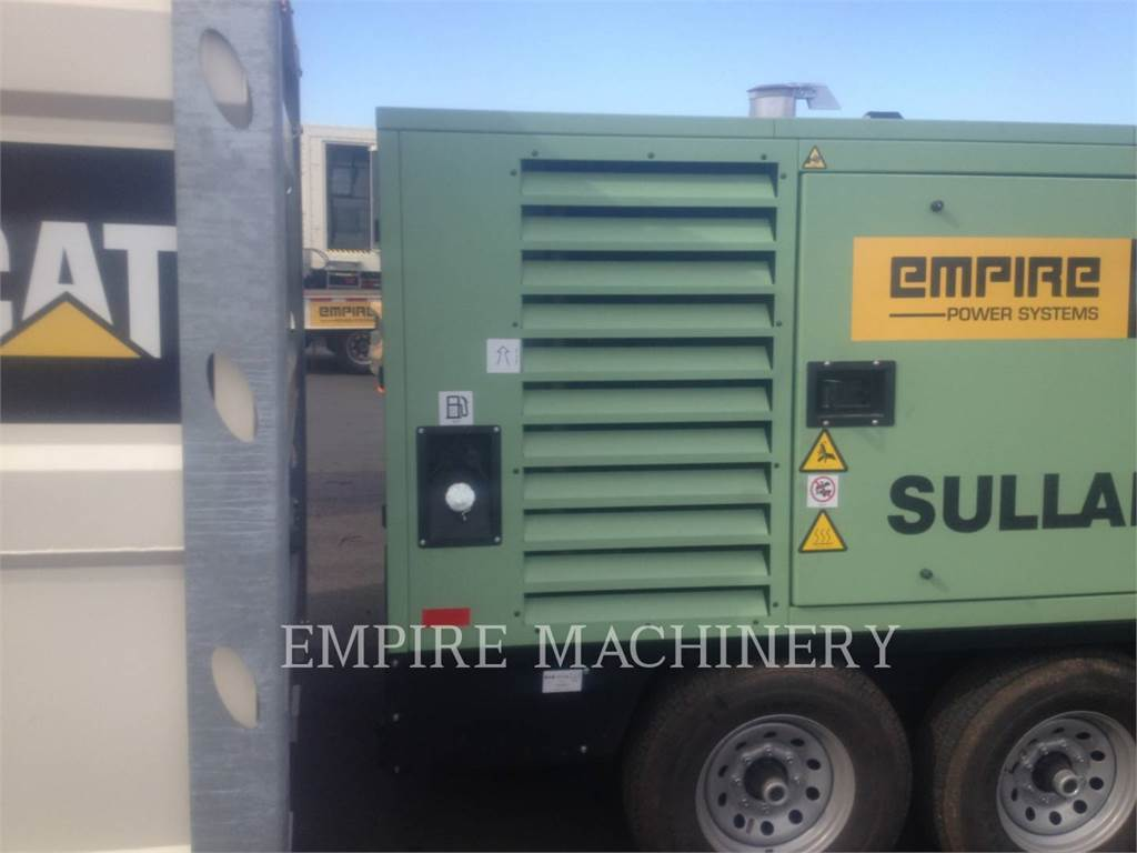 Sullair DTQ900HAF, Compressed Air, Construction