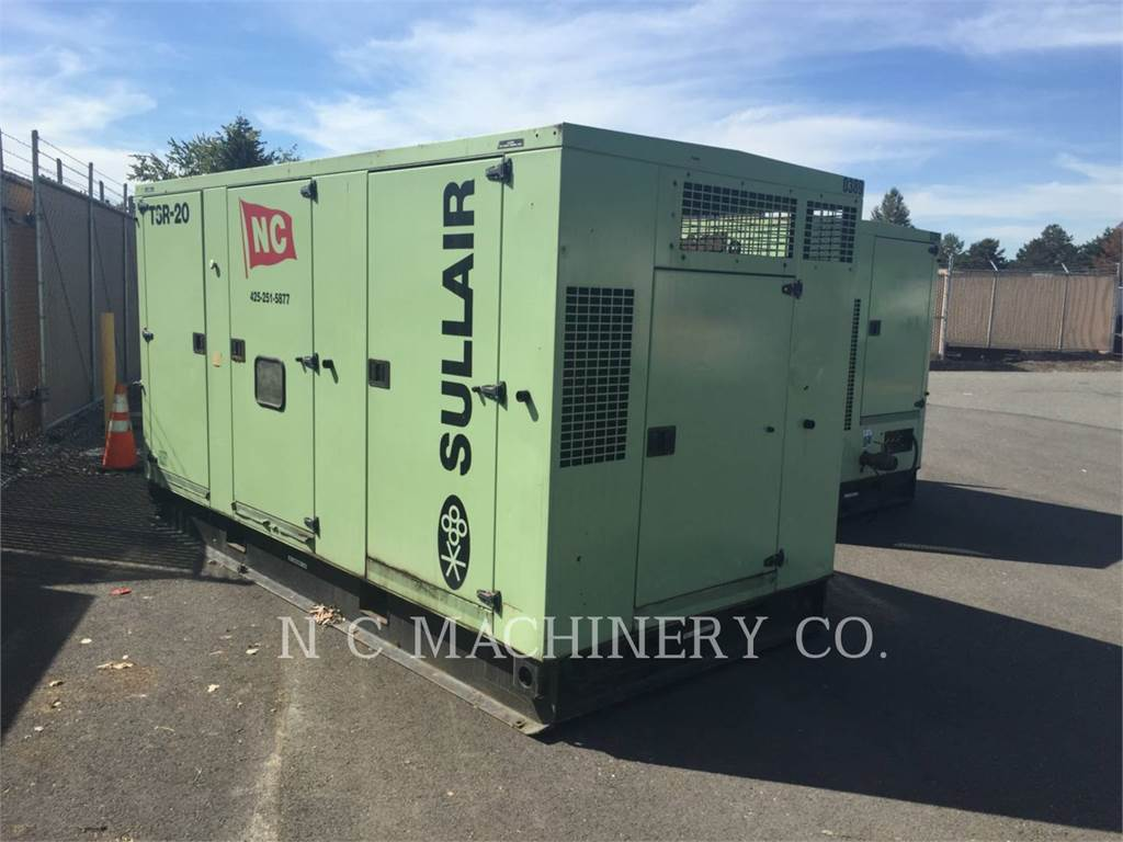Sullair TSR-20, Compressed Air, Construction