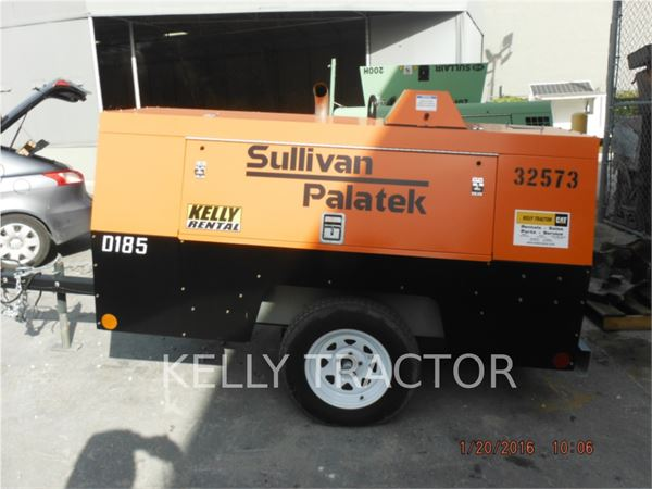Sullivan D185P, Compressed Air, Construction