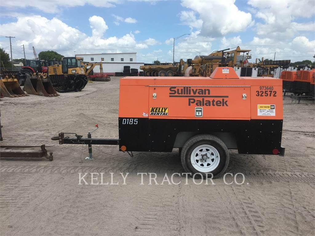 Sullivan D185P DZ, compresor de aire, Construcción
