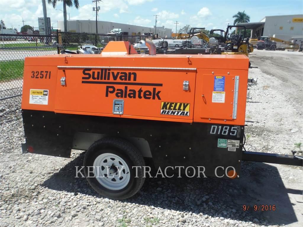Sullivan D185P DZ, luftkompressor, Bau-Und Bergbauausrüstung