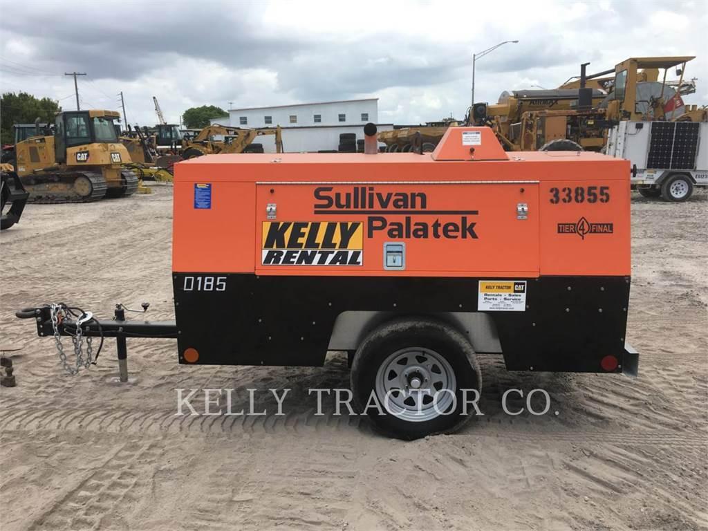 Sullivan D185P DZ、エア・コンプレッサ、建設