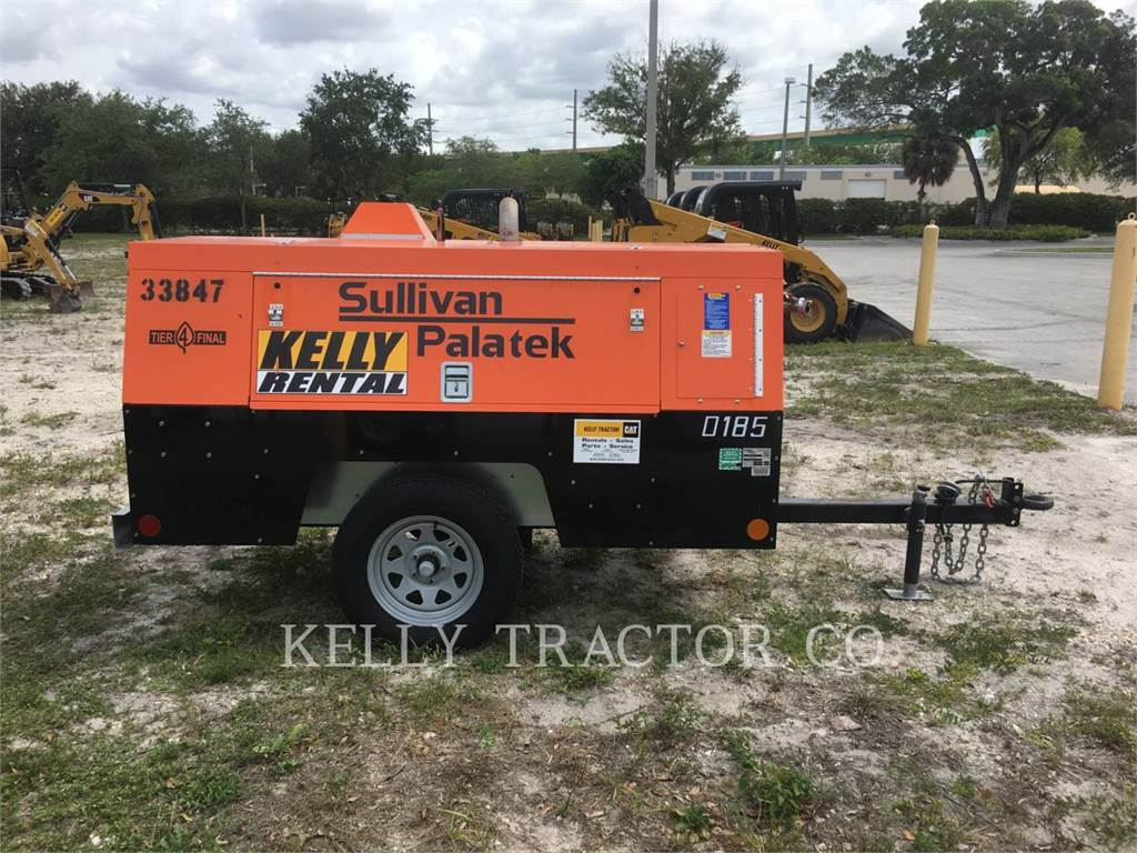 Sullivan D185P DZ, Compressed Air, Construction