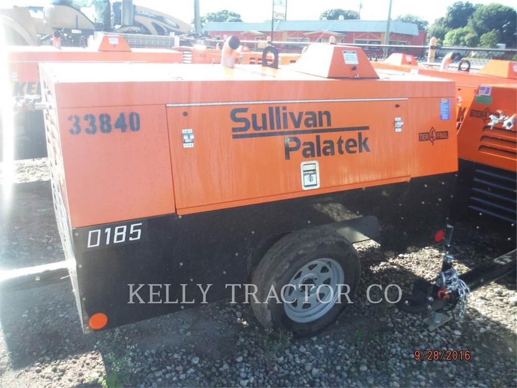 Sullivan D185P DZ, compresseur a air, Équipement De Construction
