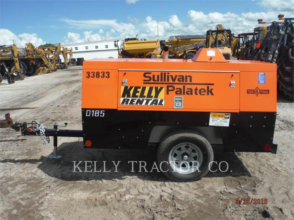 Sullivan D185P DZ, compressore aria, Attrezzature Da Costruzione