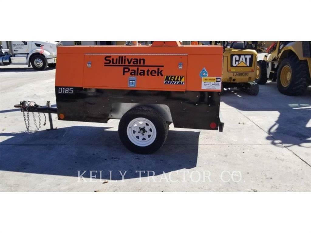 Sullivan D185P DZ, sprężarka powietrza, Sprzęt budowlany