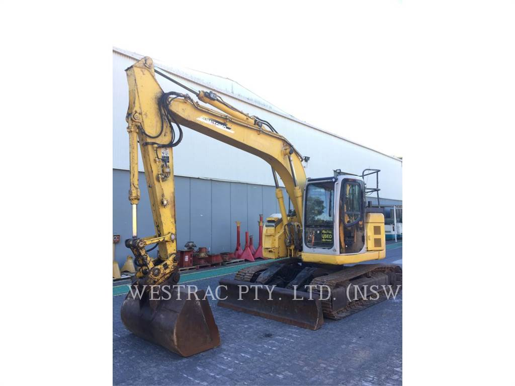 Sumitomo SH125X-3, Crawler Excavators, Construction