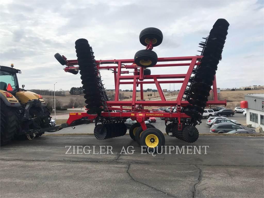Sunflower MFG. COMPANY 6631-29, equipamento agrícola de lavragem, Agricultura