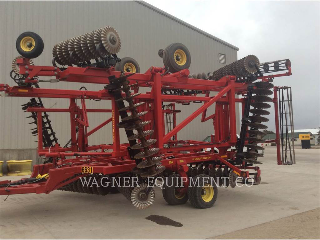 Sunflower MFG. COMPANY 6631-40, tillage equipment, Agriculture
