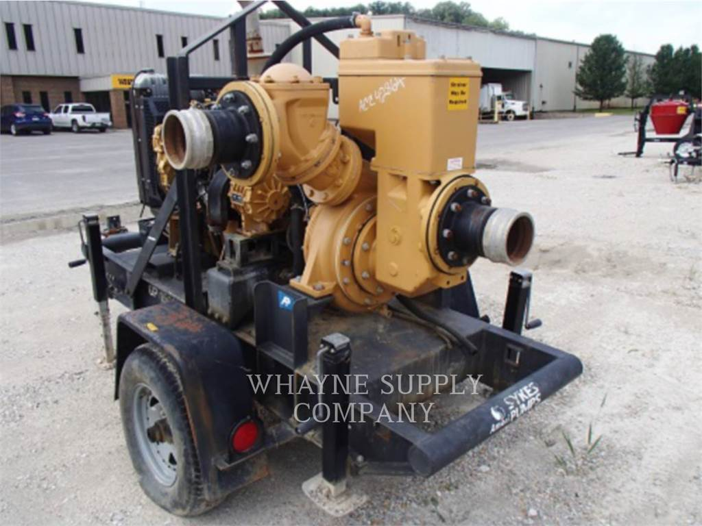 Sykes PUMPS GP150, Water Pumps, Construction