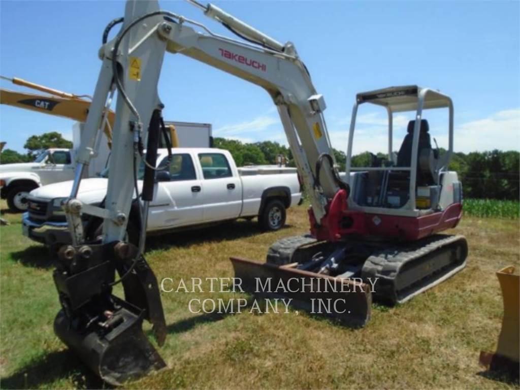 Takeuchi TAK TB250, Crawler Excavators, Construction