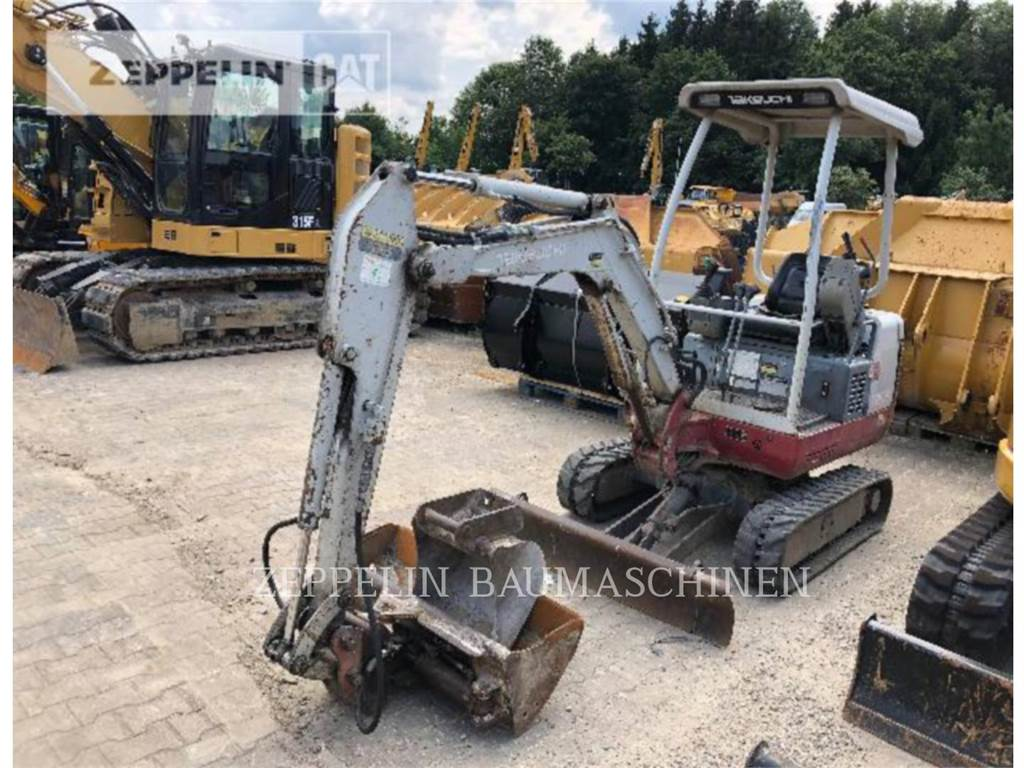 Takeuchi TB016, Crawler Excavators, Construction