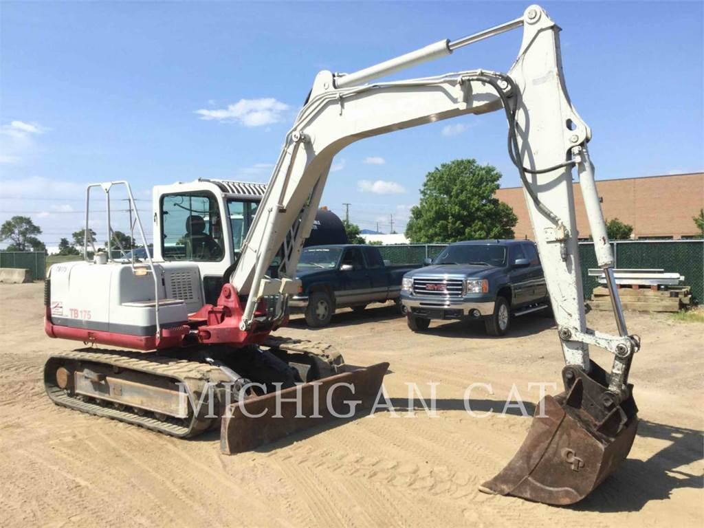 Takeuchi TB175, Crawler Excavators, Construction