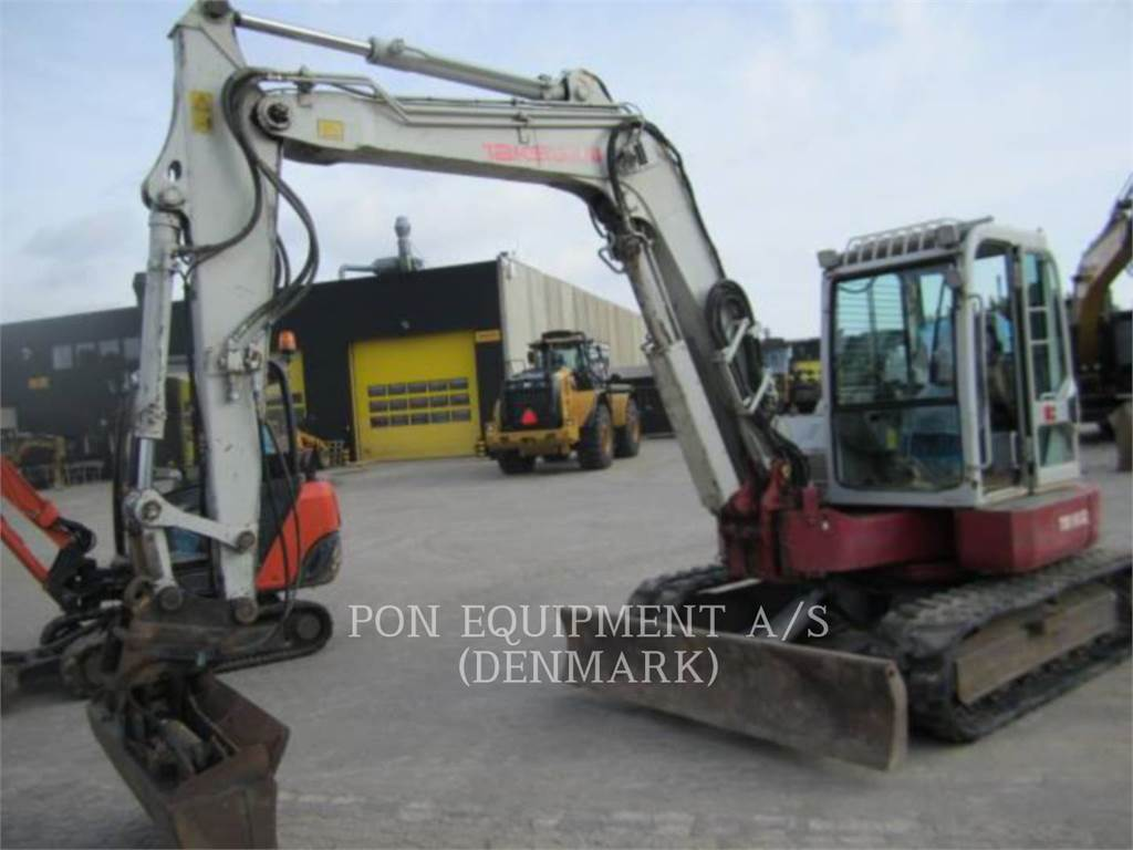 Takeuchi TB180FR, Crawler Excavators, Construction