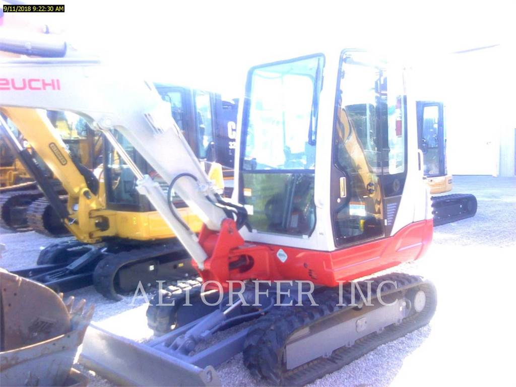 Takeuchi TB235, Crawler Excavators, Construction