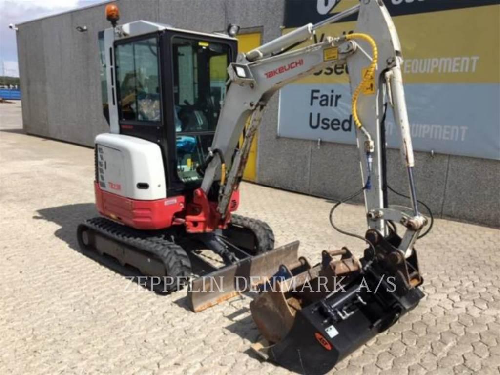 Takeuchi TB23R, Crawler Excavators, Construction