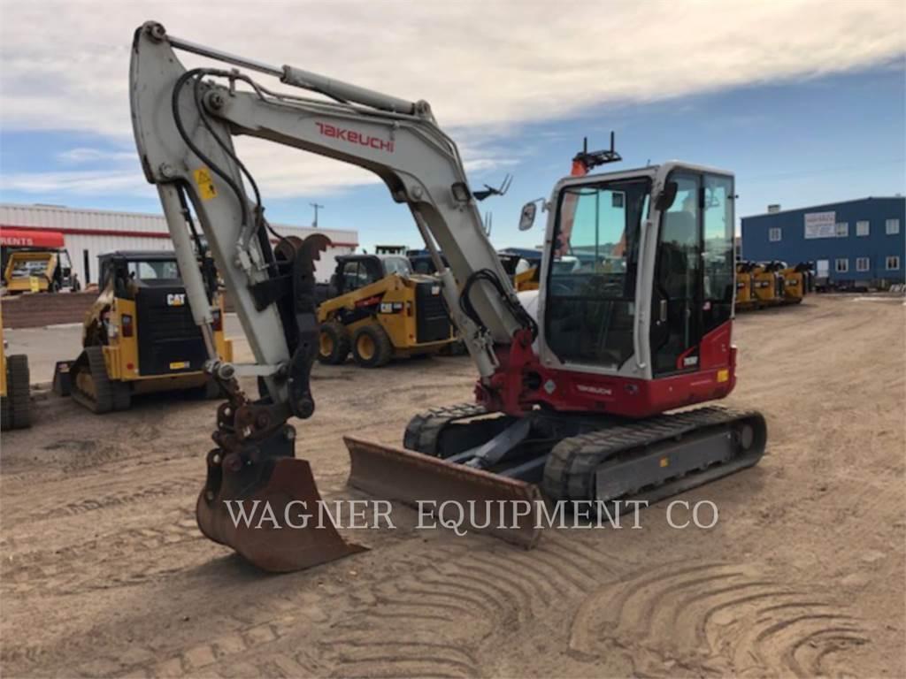 Takeuchi TB260, Crawler Excavators, Construction