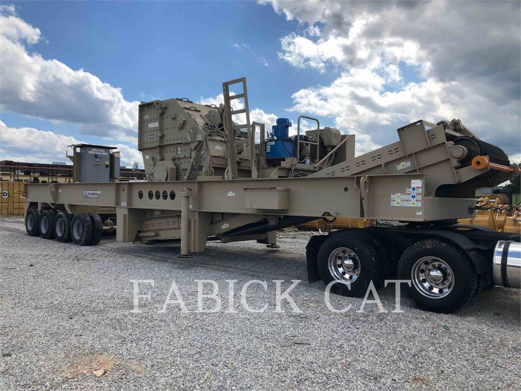Telsmith PA6060, crushers, Construction