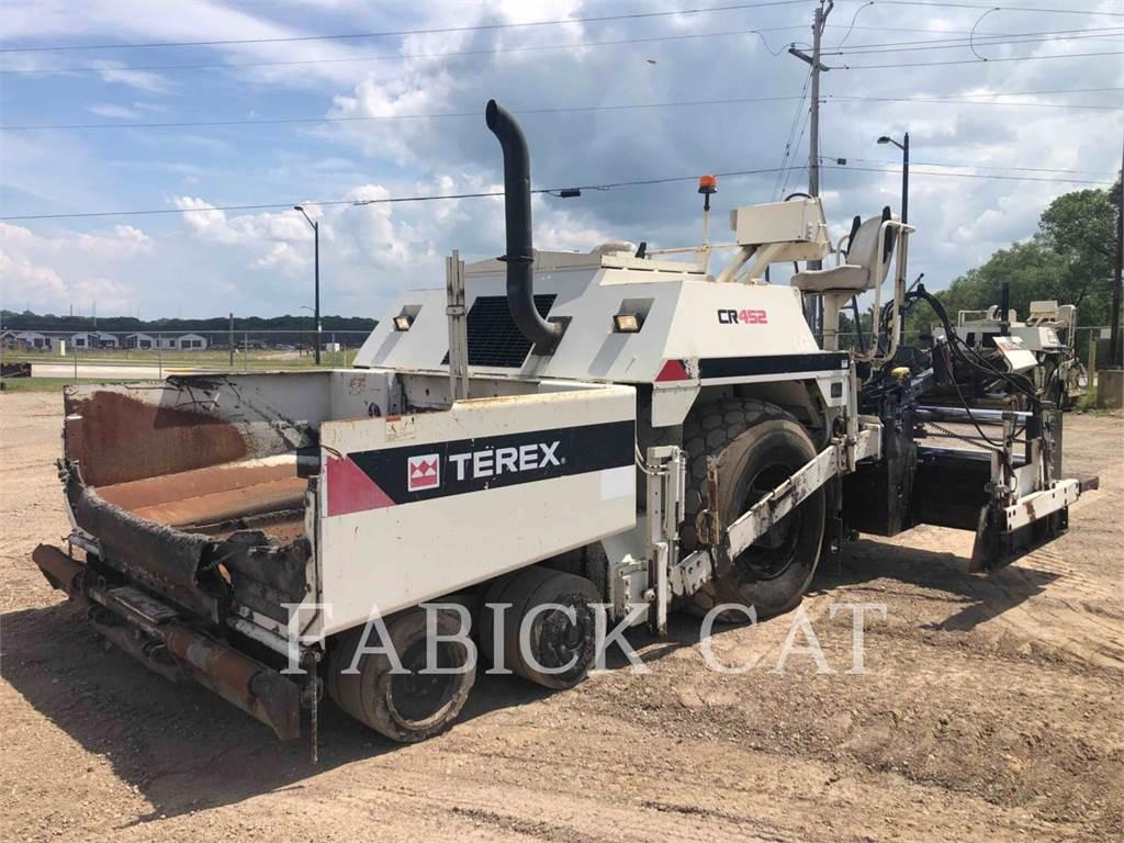 Terex CR452, Asphalt pavers, Construction
