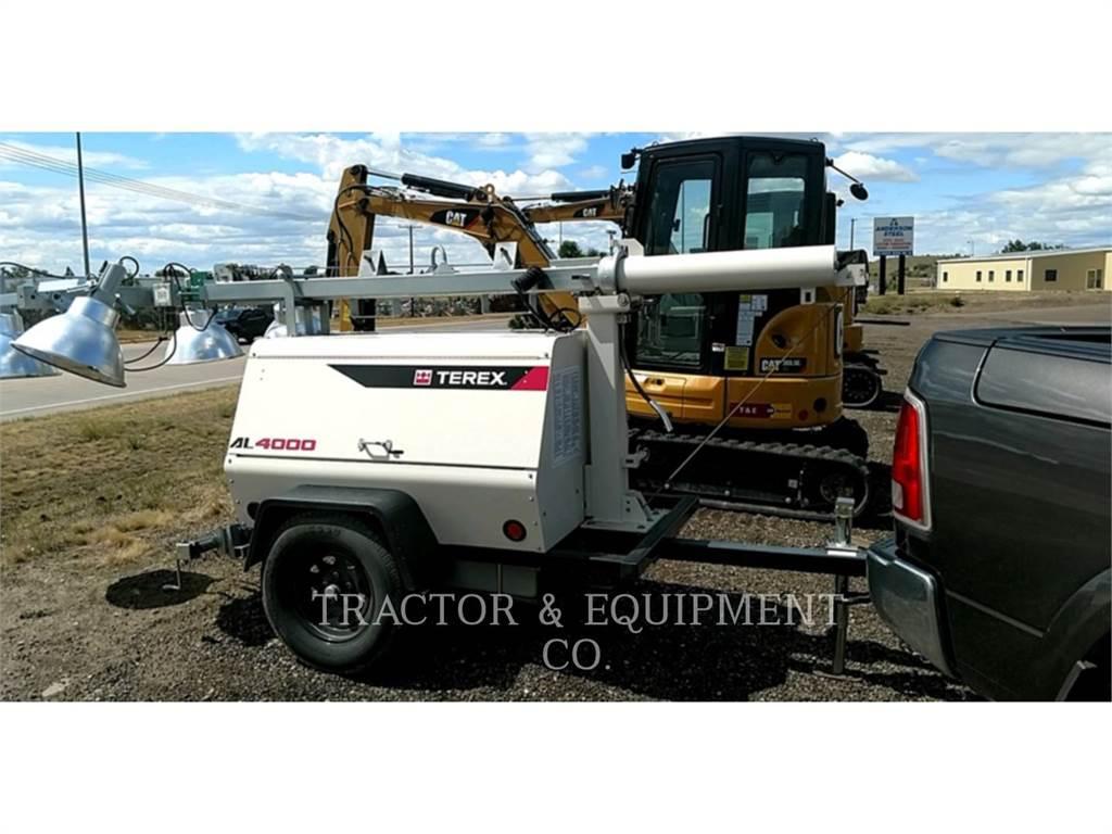 Terex EQUIP. LTD. AL4000, leichter turm, Bau-Und Bergbauausrüstung
