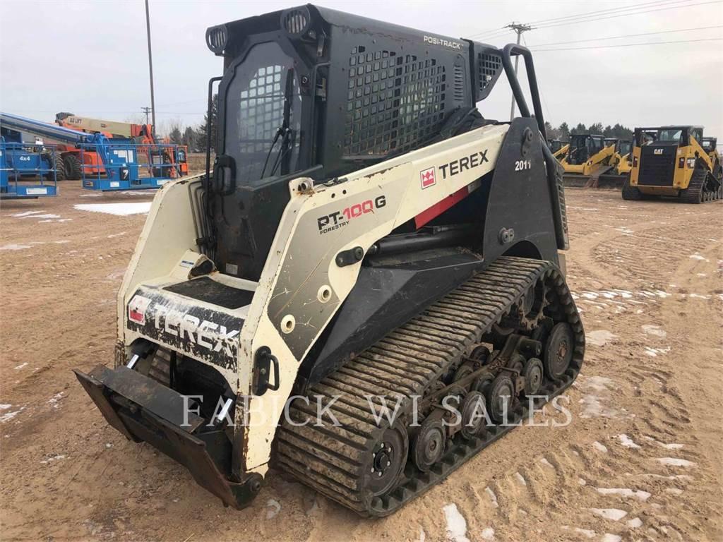 Terex EQUIP. LTD. PT-100, Skid Steer Loaders, Construction